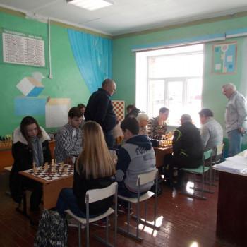 Шахматный турнир 14.02.2016 в с.Моряковский затон